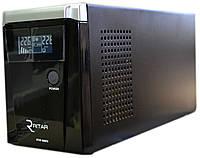 ИБП RITAR RTSW-800 (480Вт) LCD, для котла, чистая синусоида, внешняя АКБ
