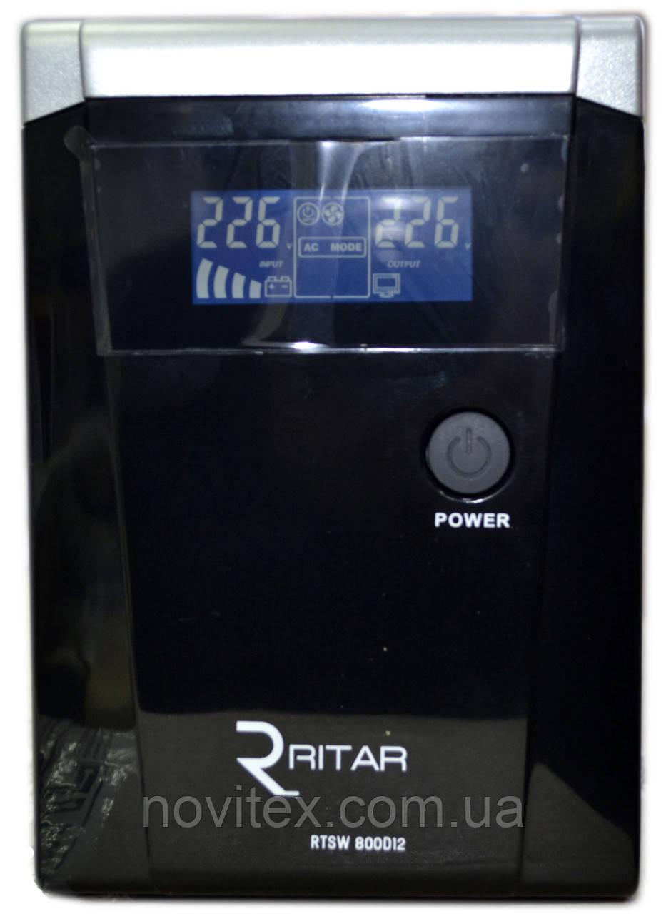 ИБП RITAR RTSW-800 (480Вт) LCD