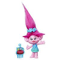 Игрушка оригинальная тролль Поппи, Розочка, Мачек DreamWorks Trolls Poppy Collectible Figure