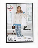 Женская пижама 100% Хлопок с брючками