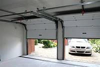 Ворота гаражные секционные подъемные Алютех, (Alutech) 45 мм.