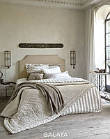 Элитное постельное белье  Hamam Galata 220х260 лен и шелк
