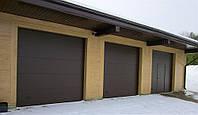 Ворота гаражные автоматические секционные Алютех, (Alutech) 40 мм.