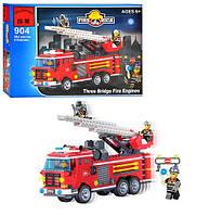 Конструктор BRICK 904 Пожарная тревога, 364 дет