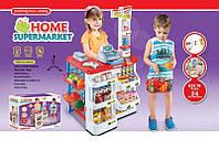 Детский набор магазин  с корзинкой и продуктами 668-02