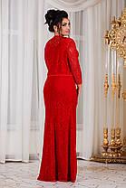 ДС430 Вечернее платье с болеро размеры 48-56 , фото 3