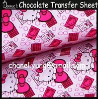 Китти трансфер для шоколада, фото 1