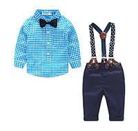 Нарядный костюм для мальчика с бабочкой