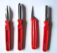 Набір ножів для карвінгу 4 предметів