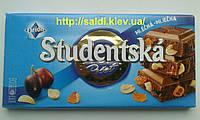 Шоколад Studentska молочный с арахисом и изюмом
