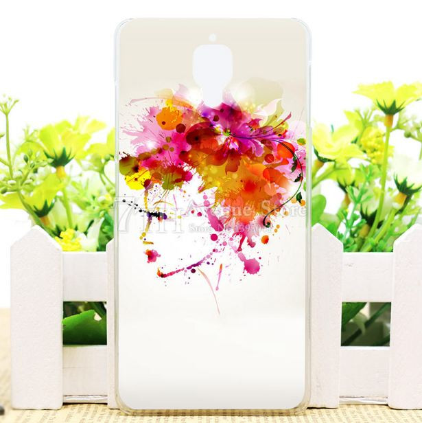 Чехол силиконовый бампер для Xiaomi Redmi Note с рисунком Портрет