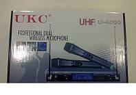 Караоке с микрофоном UKC UHF U-4000  - беспроводной микрофон