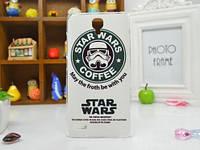 Силиконовый чехол бампер для Xiaomi Redmi Note с рисунком Star Wars, фото 1