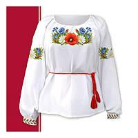 Заготовки женских вышиванок под бисер и мулине