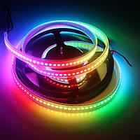 Светодиодная лента 220В 5050(60LED/м) IP68 RGB