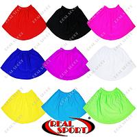 Юбка для танцев и художественной гимнастики GM050003 (эластан, р-р S-M, рост 122-146см, цвет в ассорт.)