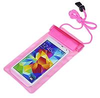 Водонепроницаемый, защитный сумка-чехол для телефонов, розовый
