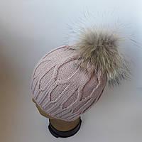Молодежная шапка Енот