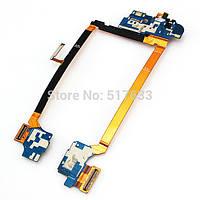 Шлейф с разъемом зарядки и разъемом для наушников LG Optimus G2 D802, D805 Original