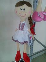 Кукла Украинка Pink Elephant  высота 60см (одна косичка)