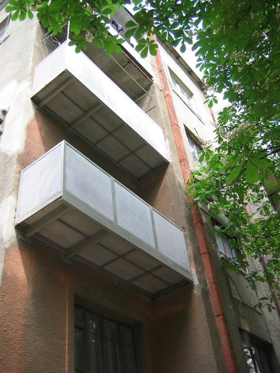 Замена балконов 1