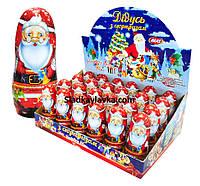 Шоколадная фигурка Дед Мороз 24 шт 30 г (Aras)