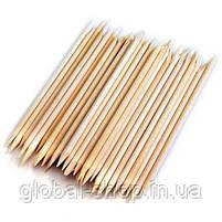 Апельсиновые палочки для маникюра 100 штук, 10 см , фото 2