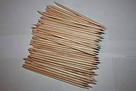 Апельсиновые палочки для маникюра 100 штук, 10 см , фото 8