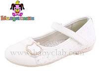 Школьная обувь для девочекТуфли ортопедические для девочки 100-157/32/білі в наличии 32 р., также есть: 32,34,35,36, Шалунишка_Родинний - 3