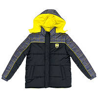 Куртка подростковая для мальчиков зимняя IXTREME Plaid 18 лет