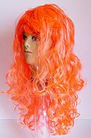 Парик карнавальный оранжевый, фото 1