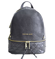 Брендовый рюкзак  черное зерно средний