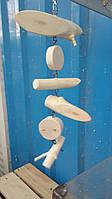 Деревянная игрушка для птиц, 20 см