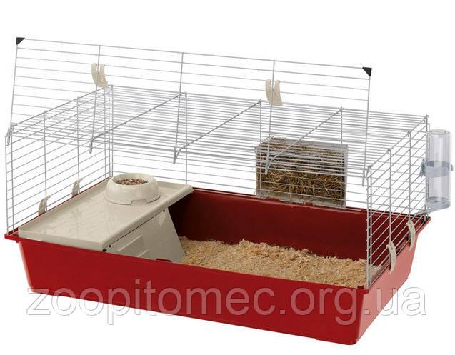 Клетка RABBIT 100 c боковой дверькой, Клетка для кролика, морской свинки.