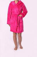 Шикарный теплый женский махровый халат