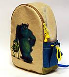 Детский рюкзак Корпорация монстров, фото 2
