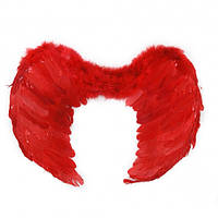 Крылья Ангела Средние 40х55см (красные)