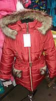 Красивая зимняя куртка для девочки