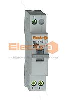 Перемикач навантаження трипозиційний МП 1-63 1P 25A I-0-II 230B/Electro 400B
