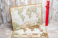 Скретч карта My Maps Antique edition в наборе для любимого человека In Love