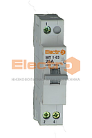 Переключатель нагрузки трехпозиционный МП1-63 1P 32A I-0-II 230B/400B Electro