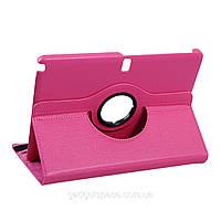 Вращающийся ярко-розовый чехол для Samsung Galaxy Note 10.1 2014 /Tab Pro 10.1 из синтетической кожи, фото 1