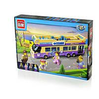 """BRICK 1123 (24) """"Автобус"""" 455 дет, в коробке"""