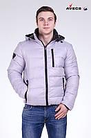 Куртка мужская пуховик зимняя Avecs (двухсторон) Размеры 56 (на 54)
