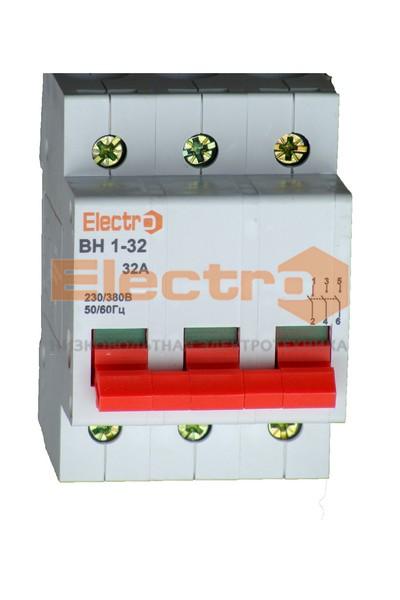 Вимикачі навантаження ВН1-32 — Electro™