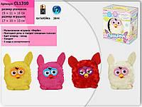 Интерактивное животное, батар, повтор.речь, прикоснов, 19,5*18*11см (72шт/2)