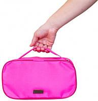 Прямоугольный органайзер для косметики (Розовый)