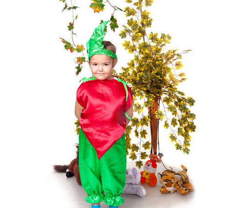 """Детский карнавальный костюм """" Бурячок """", фото 2"""