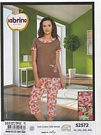 Пижама женская батал (цвет малиновый)
