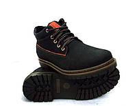 Ботинки мужские Konors в стиле Timberland c натуральной кожи